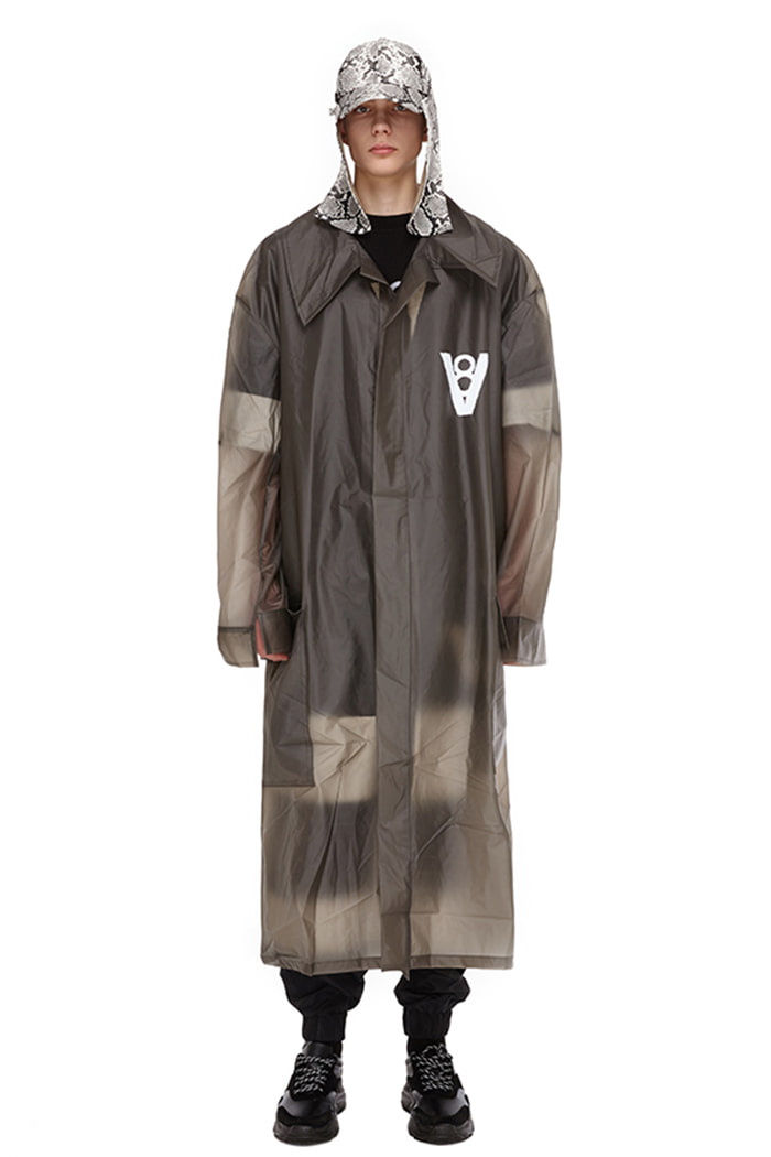 VIBE8IGHT RAIN COAT NO.1 (BLACK)
