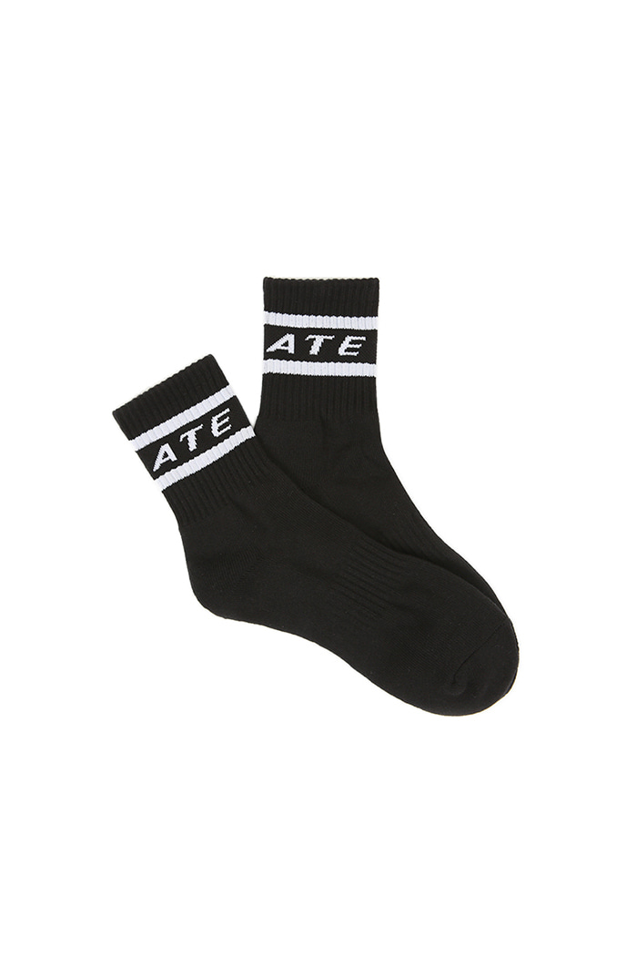OUTLINE LOGO SOCKS (BLACK)