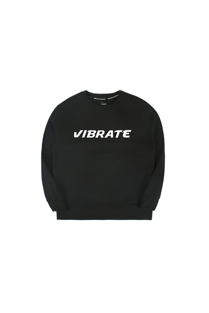 BASIC LOGO SWEAT SHIRT (black)