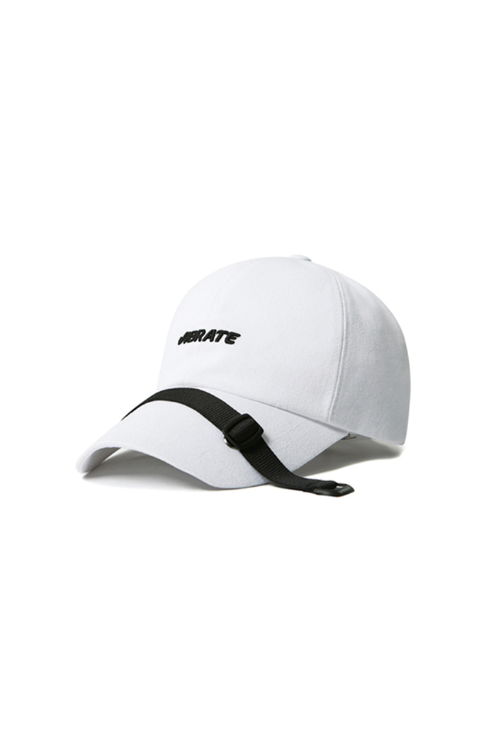 BELT CROSS BALL CAP (WHITE)