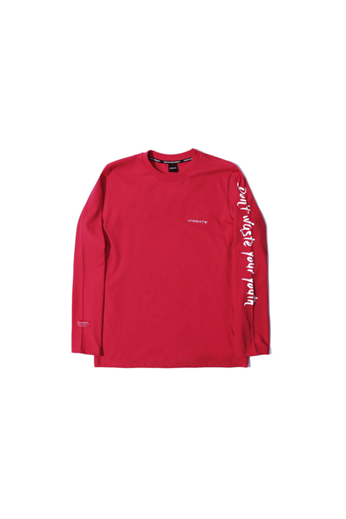 D.W.Y.Y LONG SLEEVE (RED)
