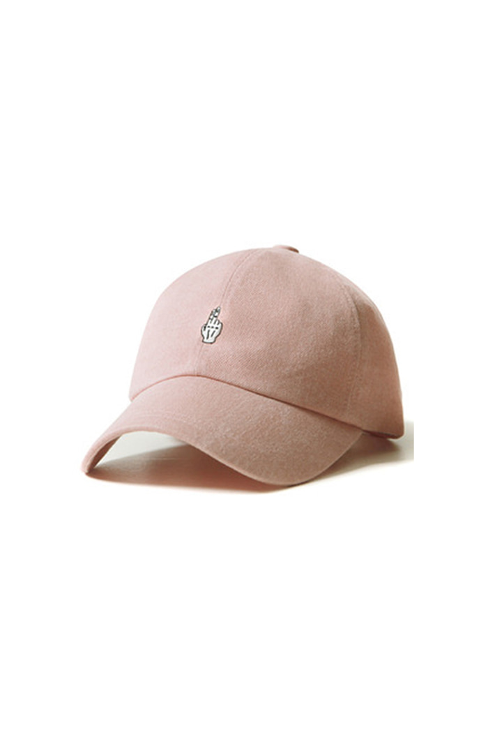 FINGER BALL CAP (WASHING LIGHT PINK)