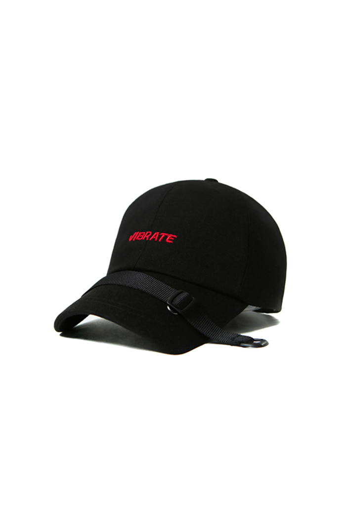 BELT CROSS BALL CAP (BLACK)