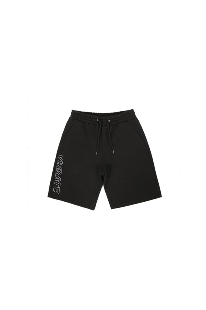 UNDER SIDE LOGO SHORT PANTS (BLACK)