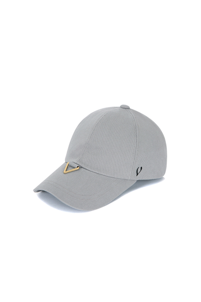 GOLD TRIANGLE VISOR BALL CAP (GRAY)
