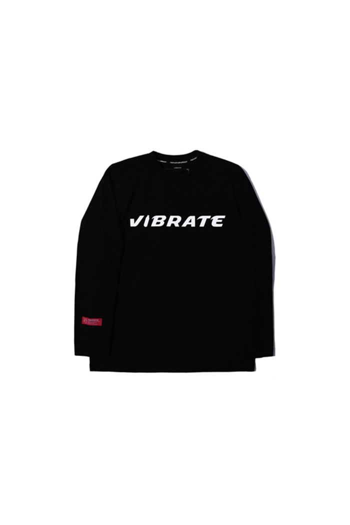 BOTTLE LOGO LONG SLEEVE (BLACK)