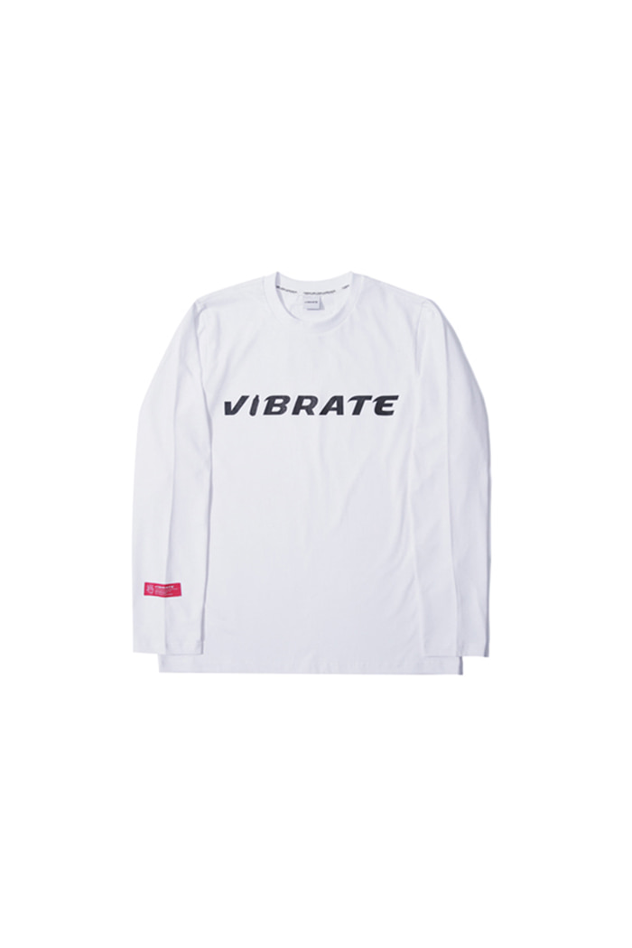 BOTTLE LOGO LONG SLEEVE (WHITE)