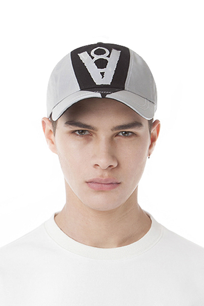 SCOTCH CUT UP BALL CAP (SILVER)