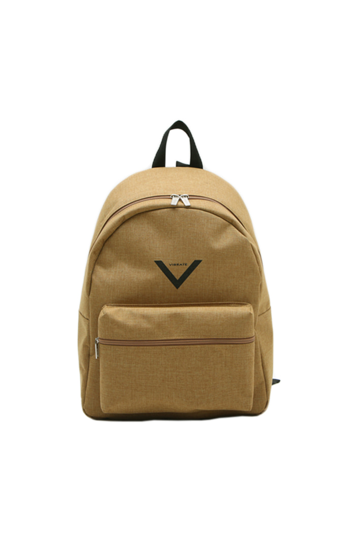 V BACKPACK (BEIGE)
