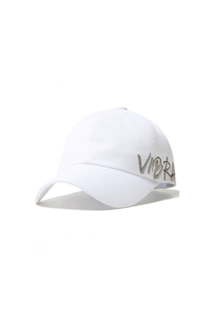 BY THE SIDE BALL CAP (WHITE)