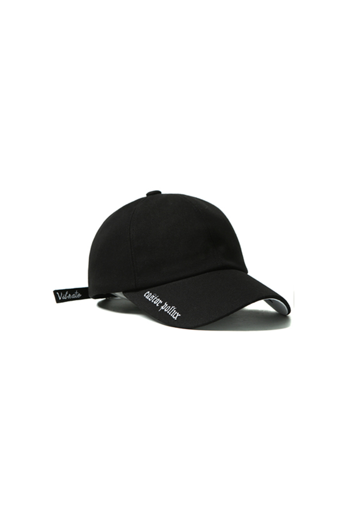 DOUBLE SIDE CAP (BLACK)