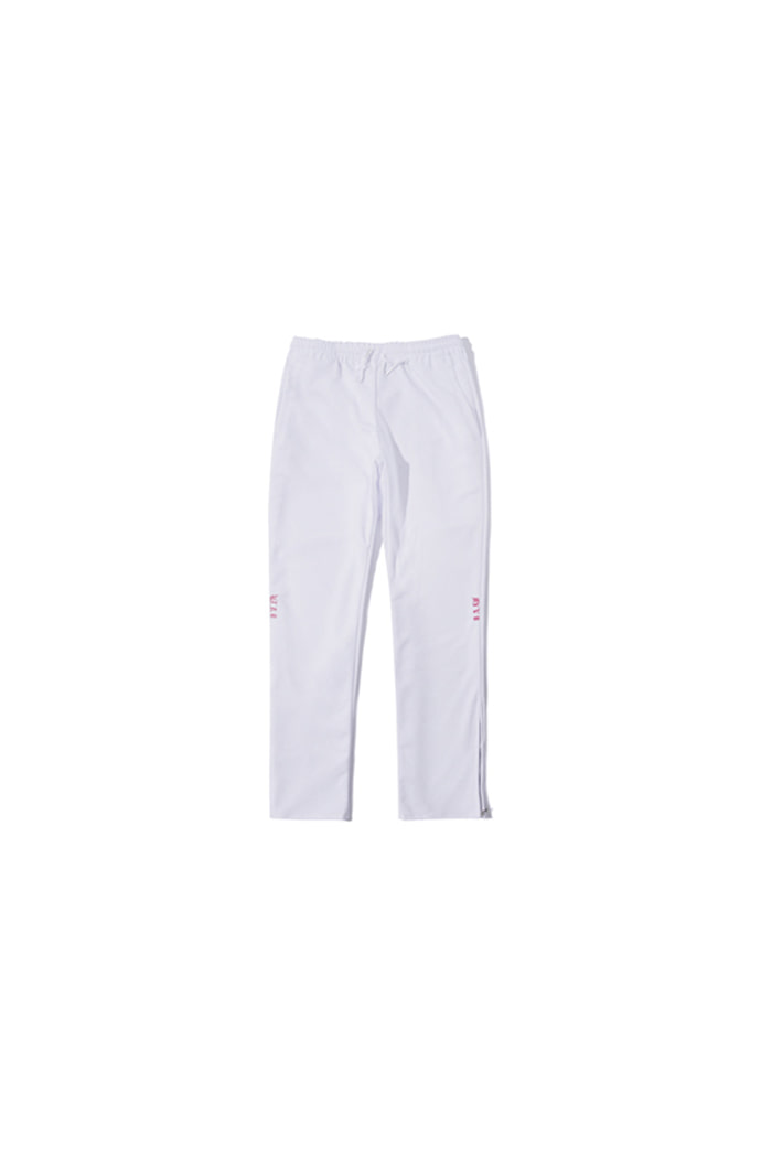 SIDE LOGO JERSEY PANTS (WHITE)