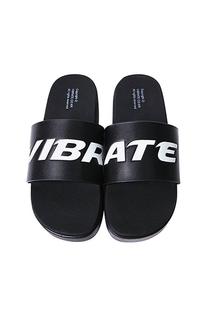 SIGNATURE SLIPPER (BLACK)