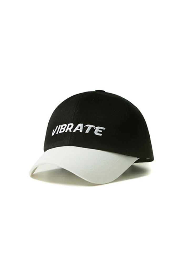NAME TWO COLOR BALL CAP (BLACK)