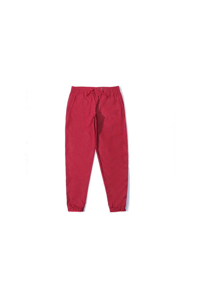 LOGO STRAP JOGGER PANTS (RED)