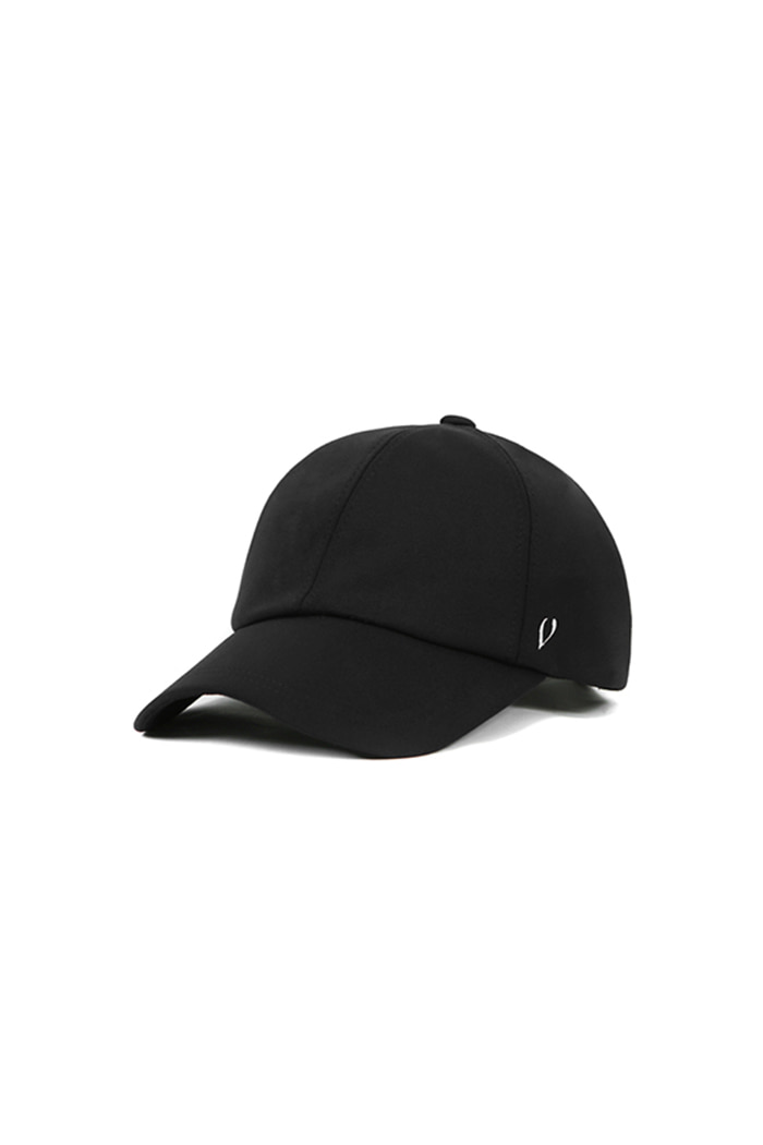 BASIC ATHLEISURE BALL CAP (BLACK)