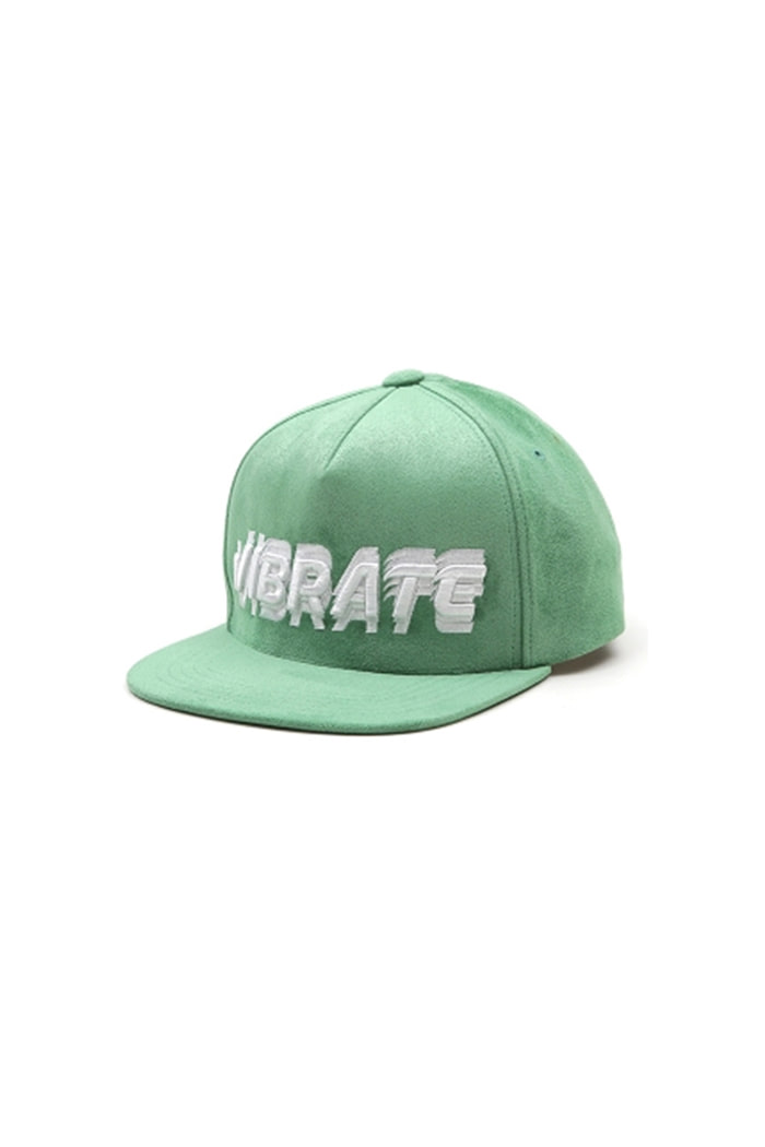 SIGNATURE NAME SNAPBACK (SUEDE GREEN)