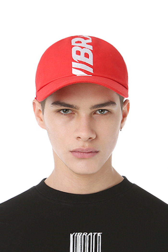 CROWN EMBROIDERY BALL CAP (RED)