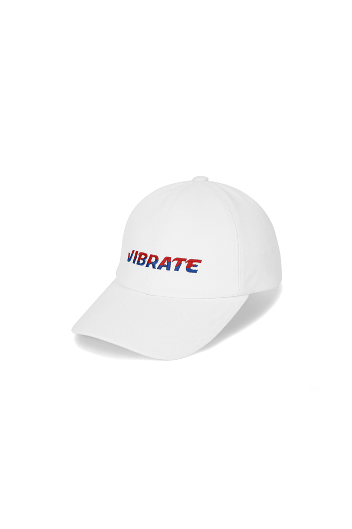 TWO TONE LOGO BALL CAP (WHITE)