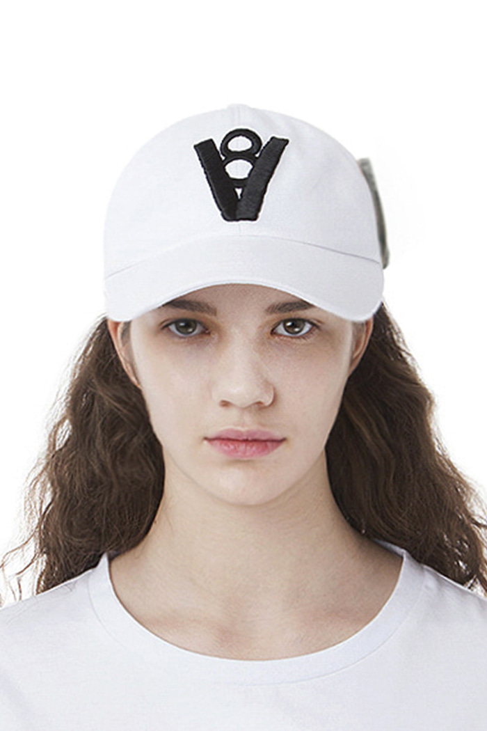 MONEY CLIP BALL CAP (WHITE)