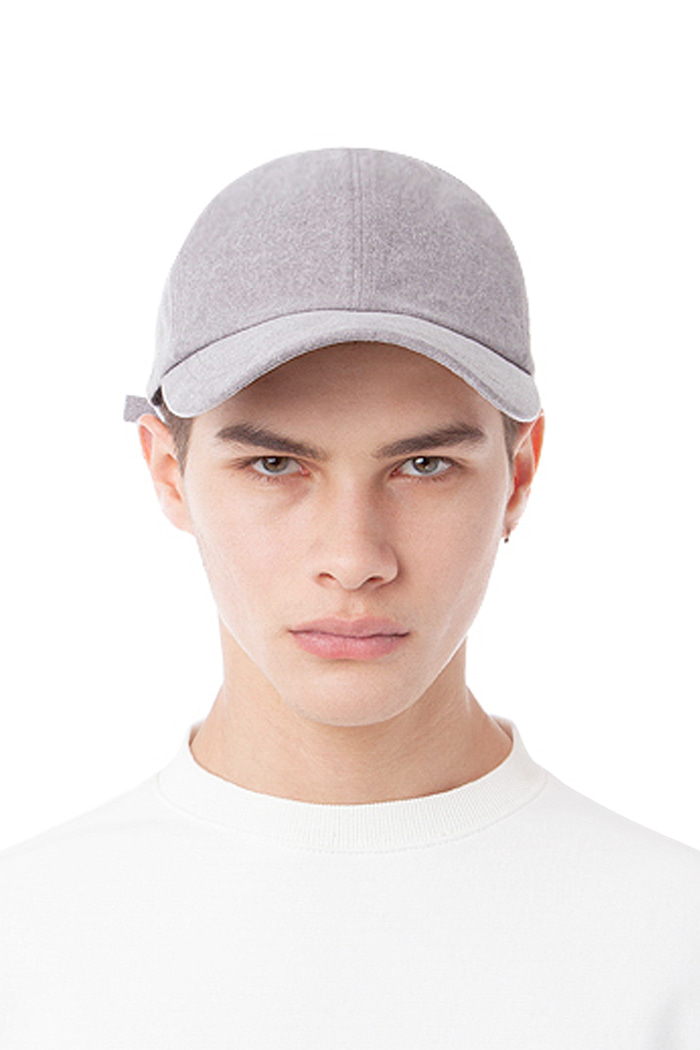 WASHING TWILL BALL CAP (GRAY)