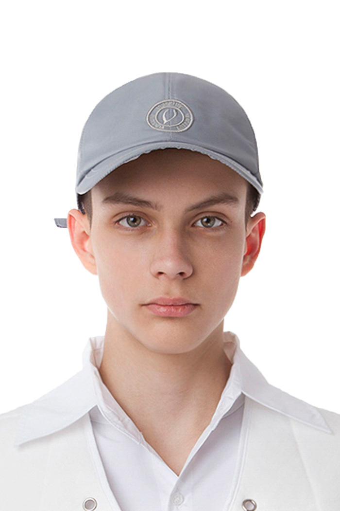 METAL NYLON BALL CAP (SILVER)