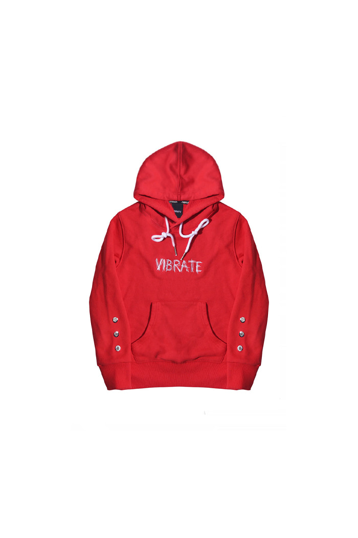 VIBRATEKIDS - TONE ON TONE HOODIE (RED)