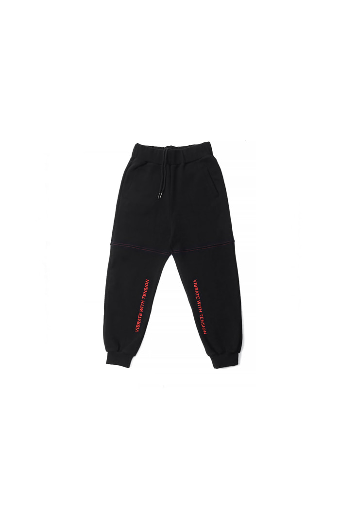 VIBRATEKIDS - WITH TENSION JOGGER (BLACK)