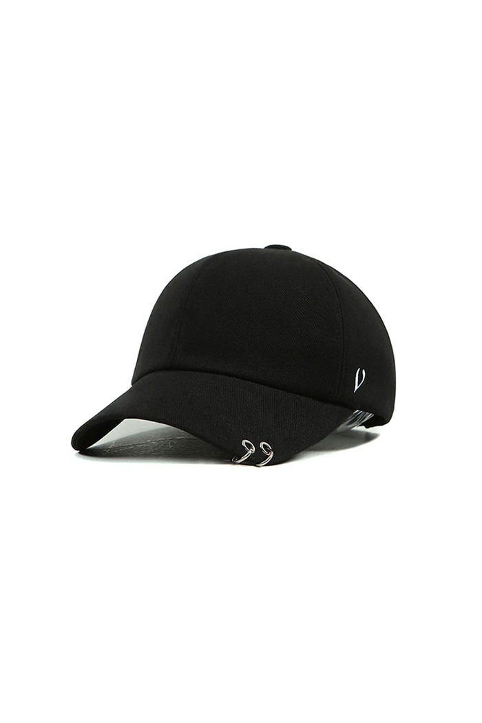 VIBRATEKIDS - TWIN RING BALL CAP (BLACK)
