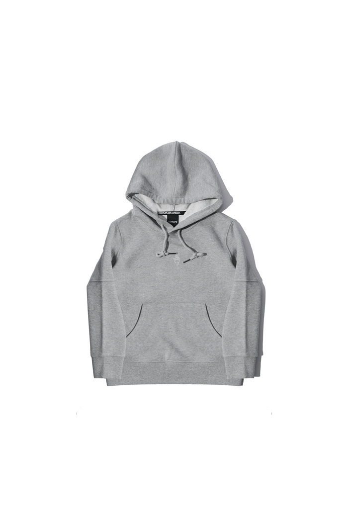 VIBRATEKIDS - WITH TENSION HOODIE (GRAY)