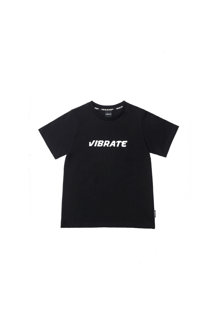 VIBRATEKIDS - BASIC LINE T-SHIRT (BLACK)