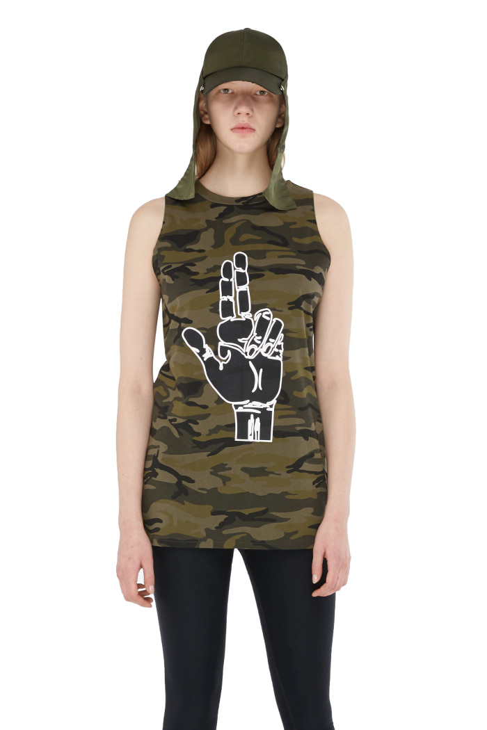 FINGER CAMO SLEEVELESS (CAMO)