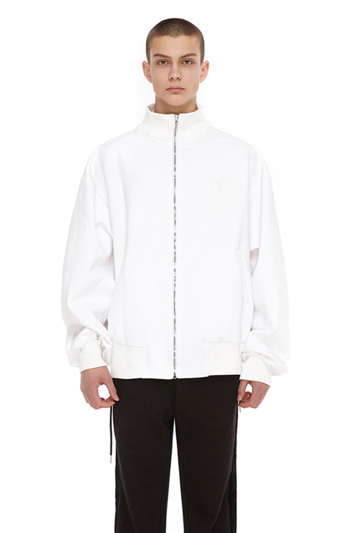 VLOW YOUR MIND JACKET (WHITE)