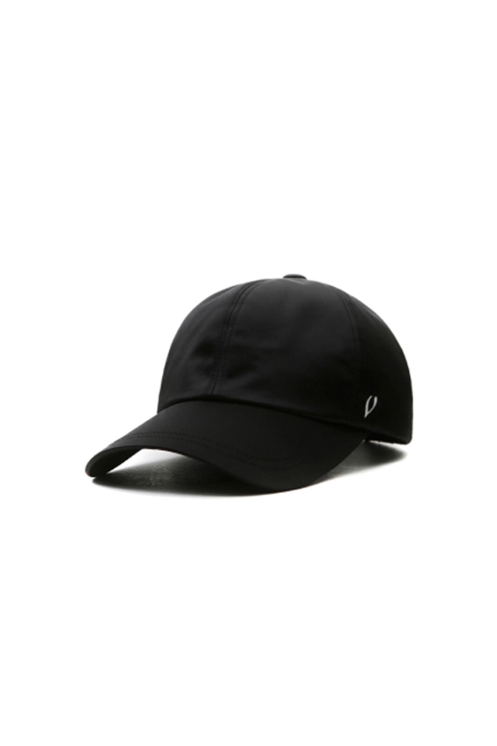 SATIN PERFECT BALL CAP (BLACK)