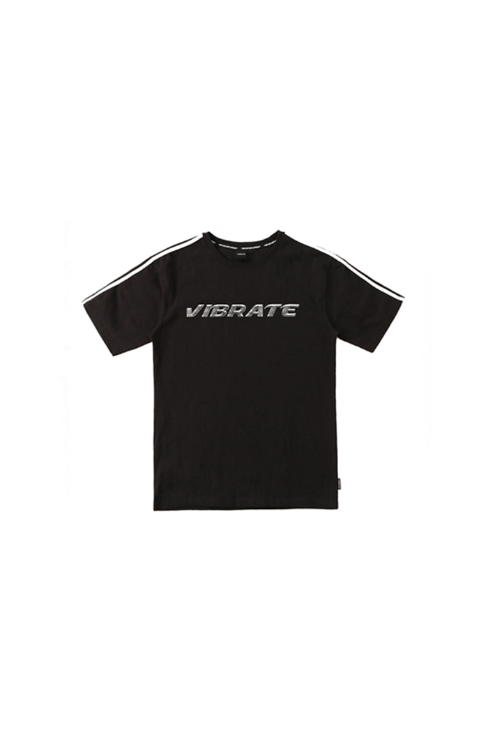 CHROME LOGO T-SHIRT (BLACK)