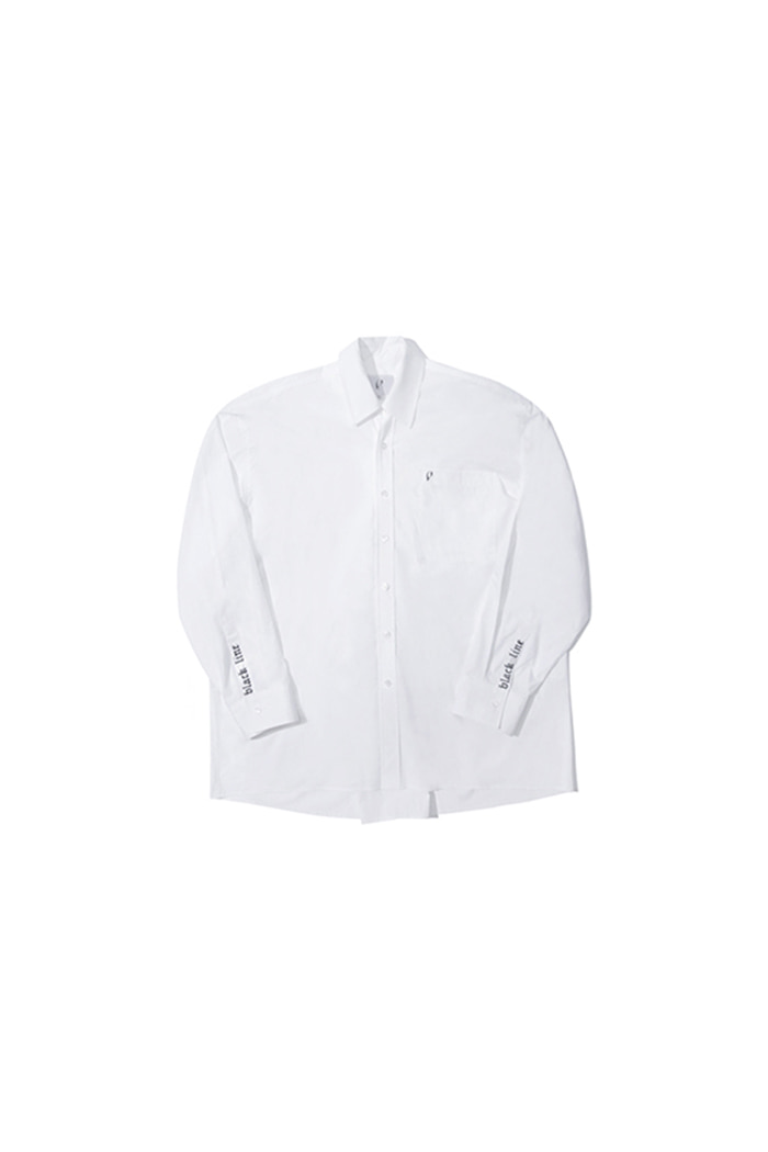 EMBROIDERY SHIRT (WHITE)