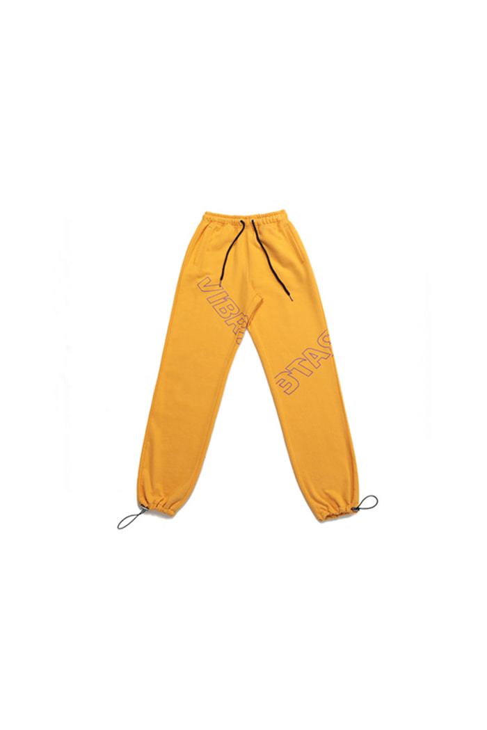 TWISTED LOGO JOGGER PANTS (woman) (YELLOW)
