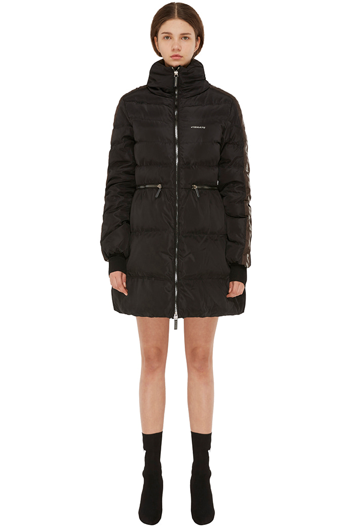 SCOTCH LINE DUCKDOWN JACKET (BLACK)