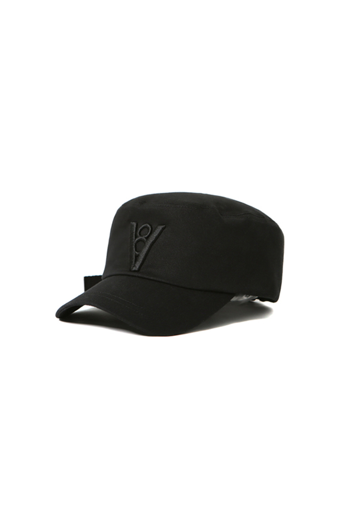 STANDARD MILITARY CAP (BLACK&BLACK)