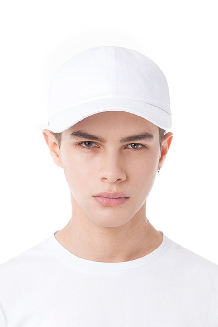 REAL COTTON BALL CAP (WHITE)