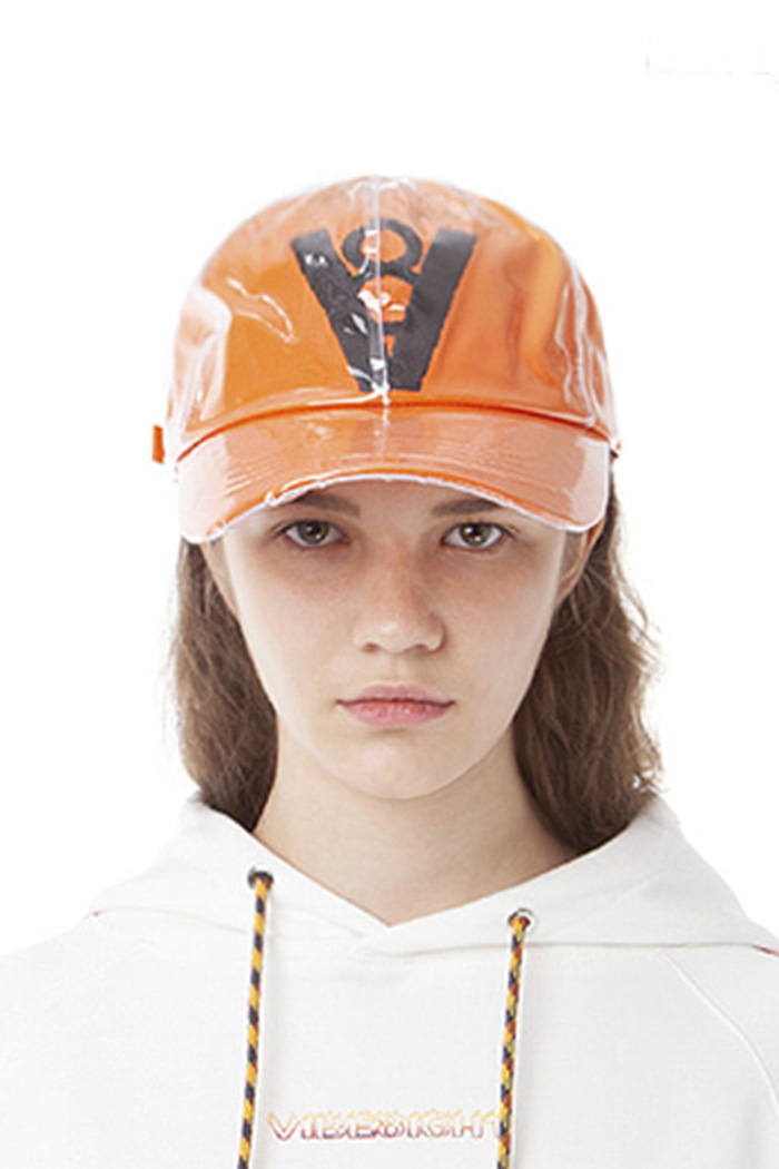 SYMBOL LOGO PVC BALL CAP (ORANGE)