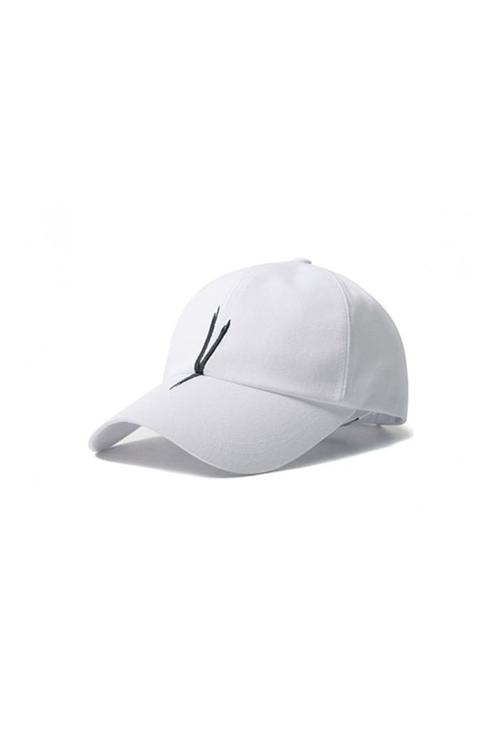 V CHECKING CAP (white)