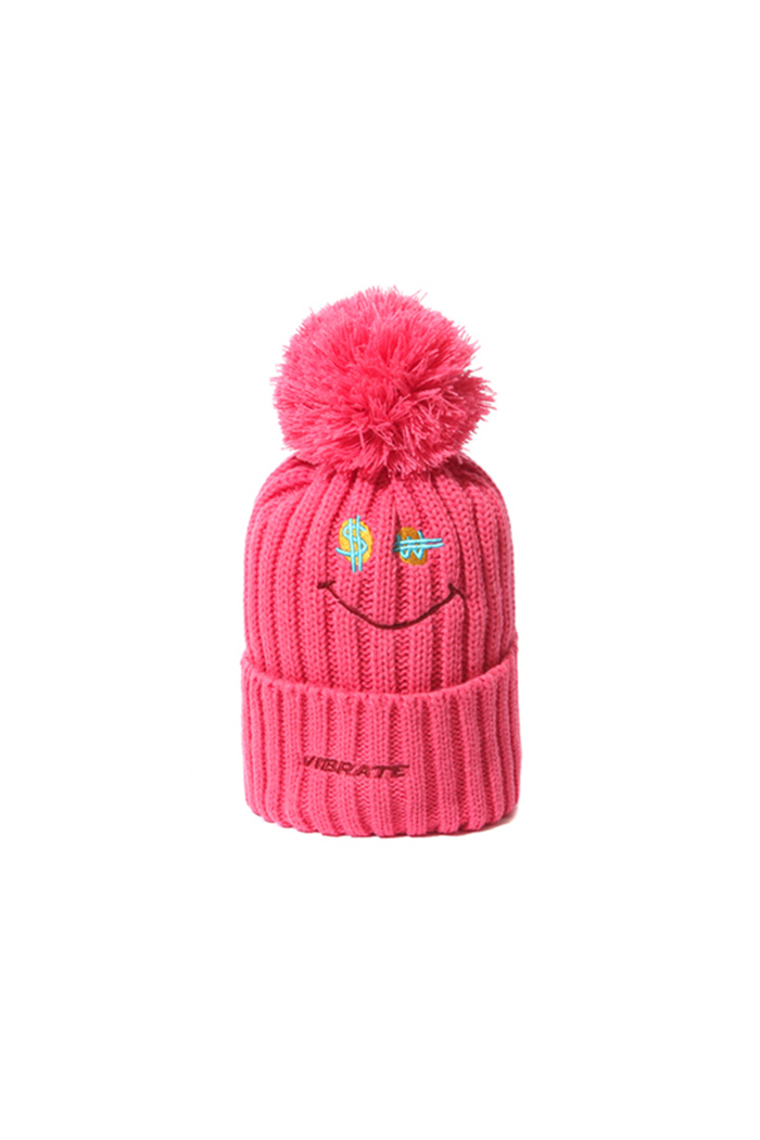 SMILE BEANIE (PINK)