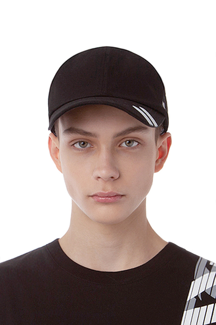 VINTAGE HAND PAINT BALL CAP (BLACK)