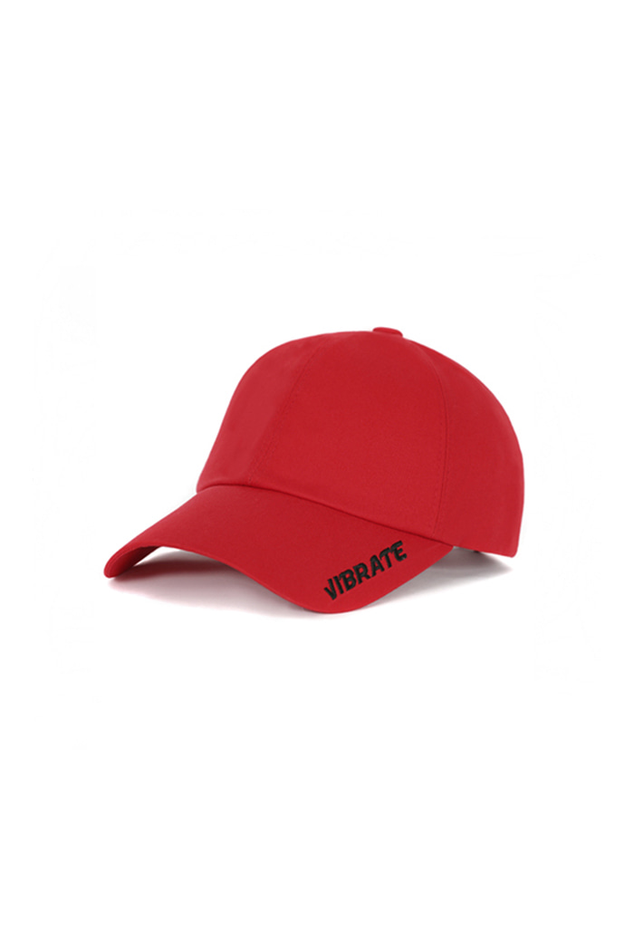 SIDE LOGO BALL CAP (RED)
