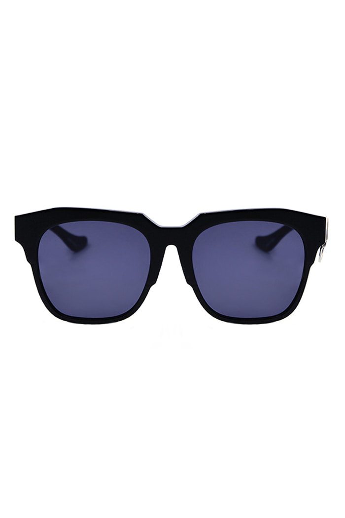 ALO X VIBRATED RING SUNGLASSES (BLACK)