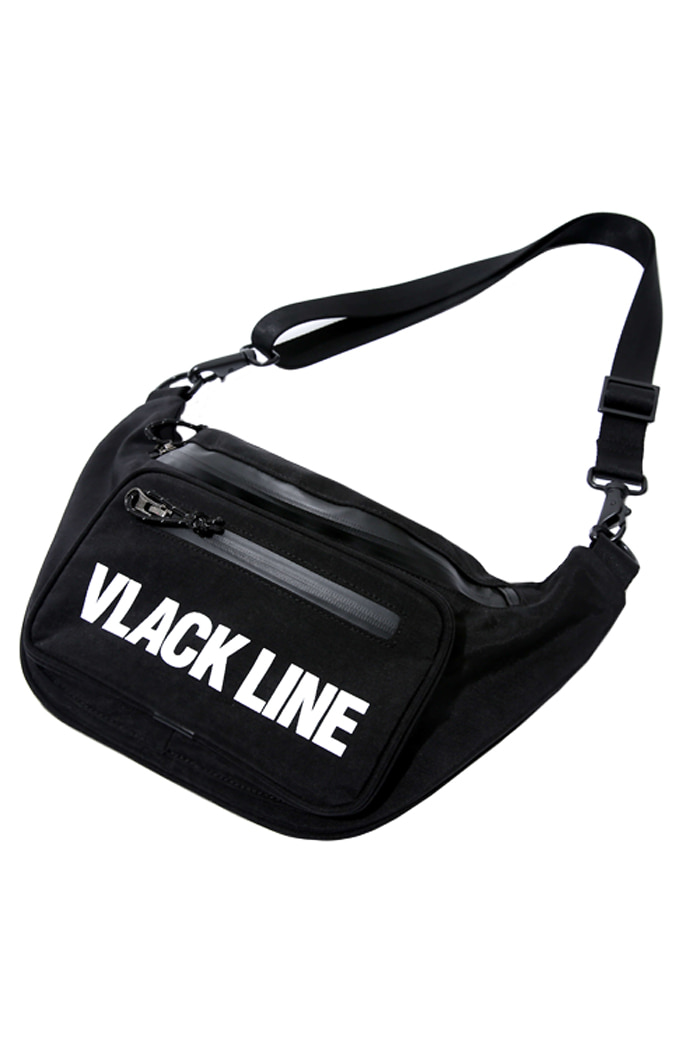 BASIC LOGO WAIST PACK (BLACK)
