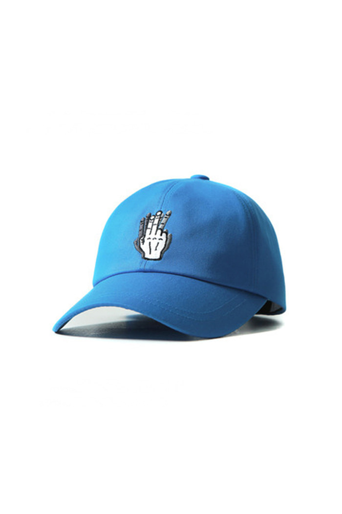 HAND SHAKE SIGN BALL CAP (blue)