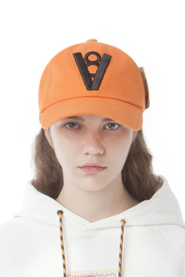 MONEY CLIP BALL CAP (ORANGE)