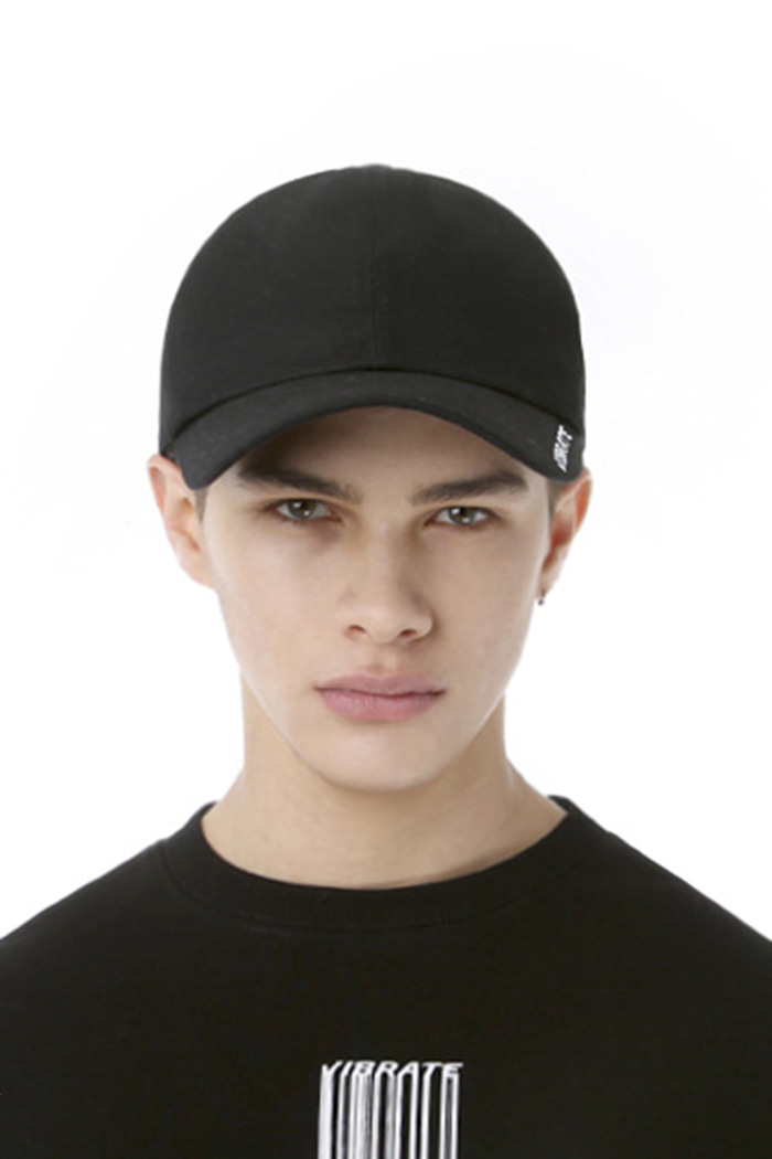 SIDE LOGO BALL CAP (BLACK)